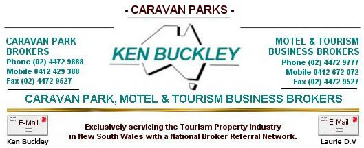Ken Buckley - Caravan Park, Motel & Tourism Business Brokers.